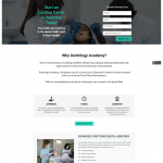 Clickfunnels lead collecting landing page